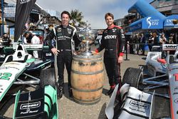 Simon Pagenaud, Team Penske Chevrolet, Will Power, Team Penske Chevrolet, Pier 39'da
