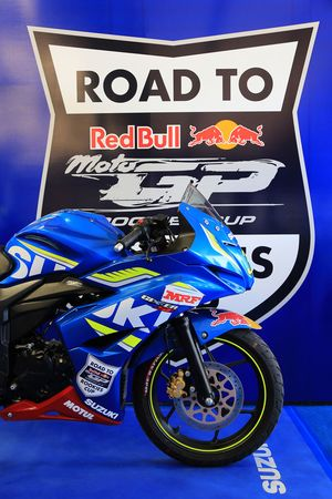 Moto del Suzuki Red Bull Road to Rookies Cup
