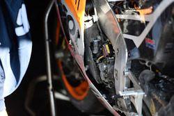 Hiroshi Aoyama, Repsol Honda Team bike after his crash