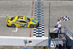 Race 2 winner Thiago Camilo