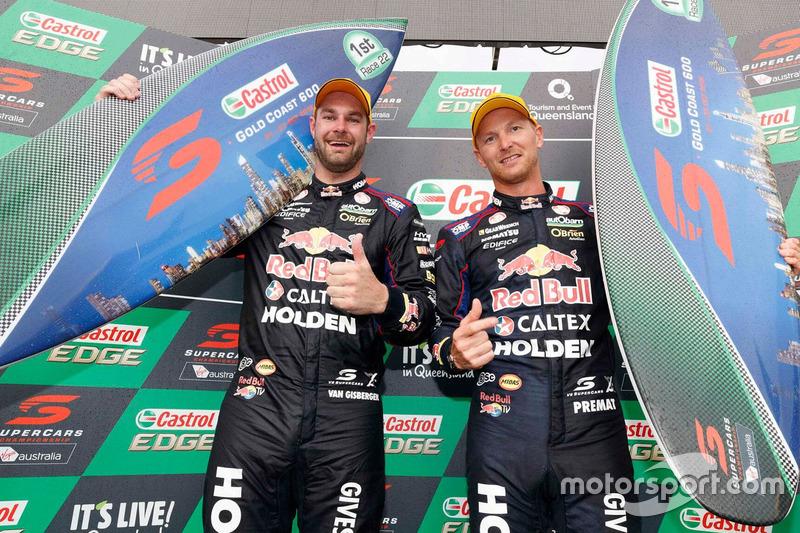 Sieger Shane van Gisbergen, Alexandre Prémat, Triple Eight Race Engineering Holden