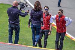 Oliver Jarvis, Loic Duval, Audi Sport Team Joest