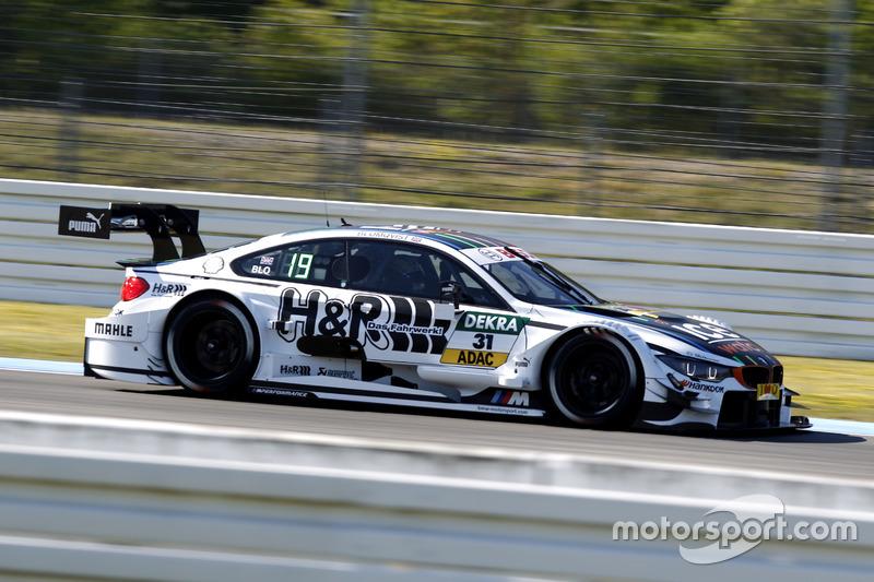 9. Tom Blomqvist, BMW Team RBM, BMW M4 DTM