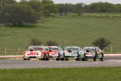 Mariano Werner, Werner Competicion Ford, Matias Rossi, Donto Racing Chevrolet, Gaston Mazzacane, Coiro Dole Racing Chevrolet, Christian Ledesma, Las Toscas Racing Chevrolet