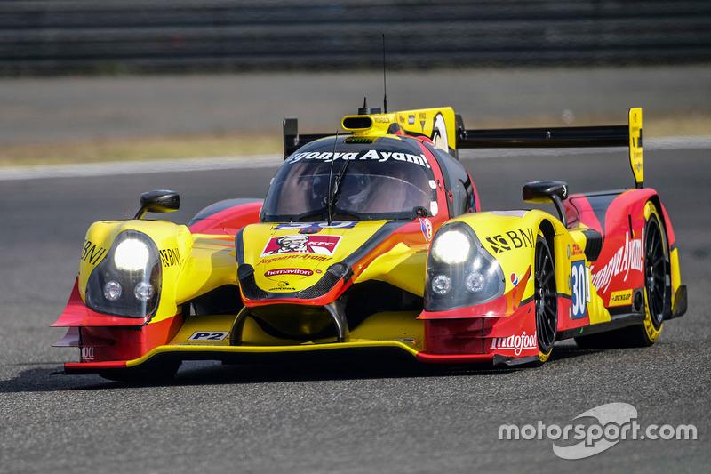 2. LMP2: #30 Extreme Speed Motorsports, Ligier JS P2 Nissan