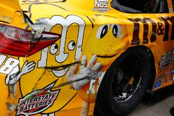 Auto chocado de Kyle Busch, Joe Gibbs Racing Toyota