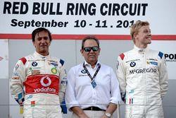 Podyum: 1. #1 BMW Team Teo Martin, BMW M6 GT3: Miguel Ramos, Pieter Schothorst