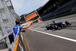 Yarış galibi Colton Herta, Carlin Motorsport