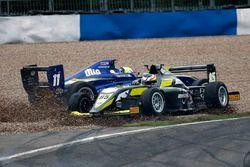 L'incidente tra Ricky Collard, Carlin ed Enzo Bortoleto, Double R Racing