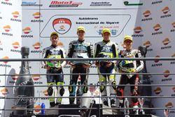 Podium CEV Moto3 Algarve