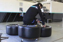 Preparación para el neumático