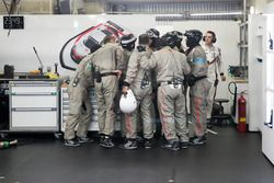 Porsche team members
