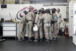 Porsche teamleden
