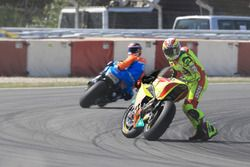 Dominique Aegerter, Kiefer Racing, crash