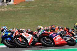 Alex Rins, Team Suzuki MotoGP, Takaaki Nakagami, Team LCR Honda, Aleix Espargaro, Aprilia Racing Team Gresini