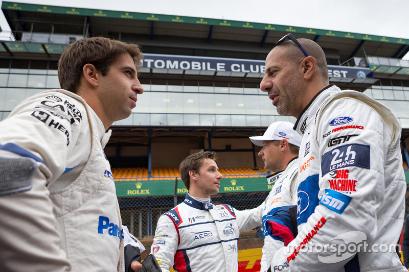 Antonio Felix da Costa, BMW Team MTEK, Tony Kanaan, Ford GT Chip Ganassi Racing