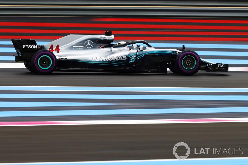 Льюис Хэмилтон, Гран При Франции-2018