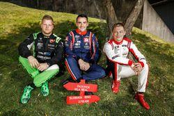 Zsolt Szabó, Zengo Motorsport Cupra TCR, Norbert Michelisz, BRC Racing Team Hyundai i30 N TCR, Mato Homola, DG Sport Competition Peugeot 308TCR