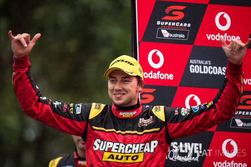 Le vainqueur Chaz Mostert, Rod Nash Racing Ford