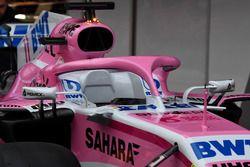 Sahara Force India VJM11 halo detail