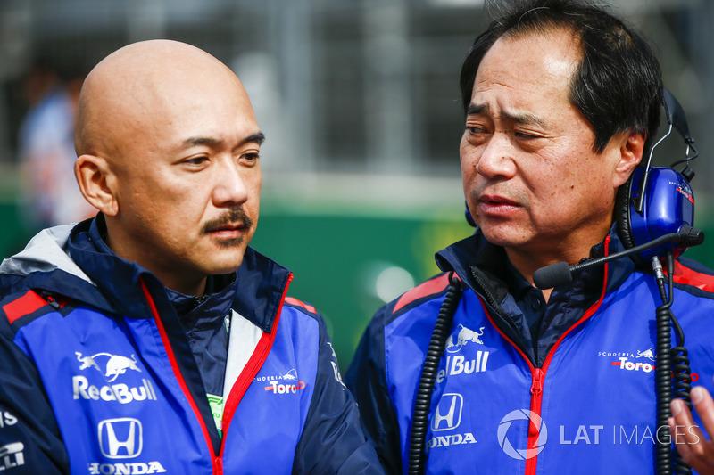 Toyoharu Tanabe, Direktur Teknis F1, Honda (Kanan)