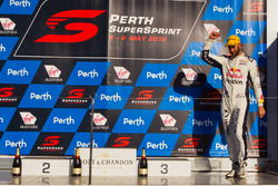 Third place Shane van Gisbergen, Triple Eight Race Engineering Holden