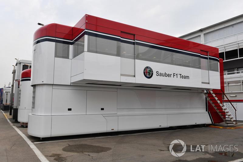 Motorhome - Barcelona - F1 - Spanyol Nagydíj