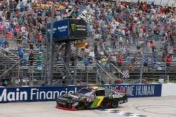 Justin Allgaier, JR Motorsports, Chevrolet se lleva la victoria