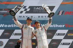 #7 Acura Team Penske Acura DPi, P: Helio Castroneves, Ricky Taylor, podium