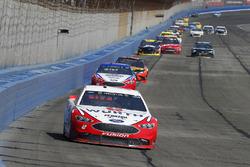 Brad Keselowski, Team Penske, Ford Fusion Wurth, Joey Logano, Team Penske, Ford Fusion AAA Southern