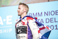 Sam Bird, DS Virgin Racing, podyumda