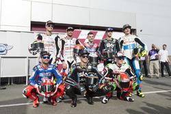 Andrea Locatelli, Italtrans Racing Team, Lorenzo Baldassarri, Pons HP 40 Luca Marini, Sky Racing Tea