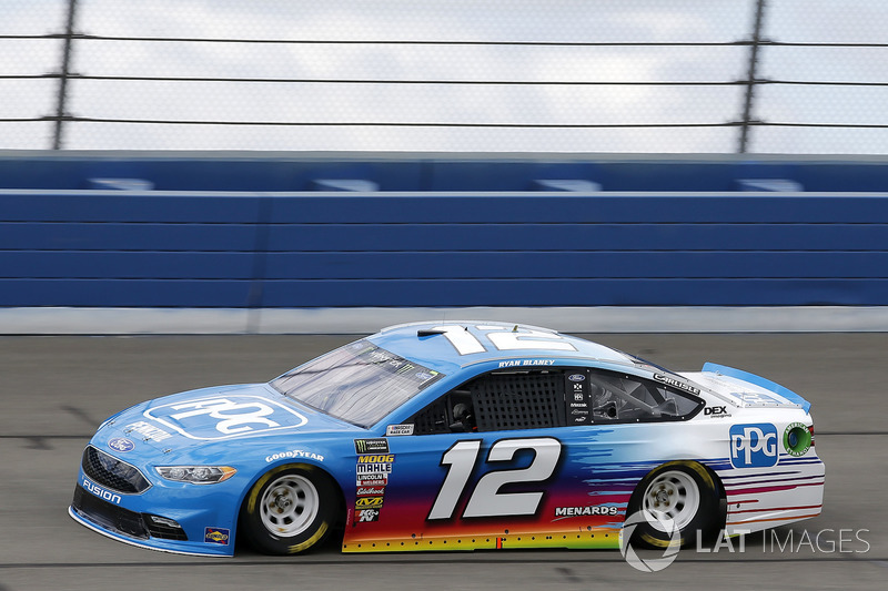 8. Ryan Blaney, No. 12 Team Penske Ford Fusion