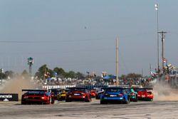 #48 Paul Miller Racing Lamborghini Huracan GT3, GTD: Madison Snow, Bryan Sellers, Corey Lewis, #15 3