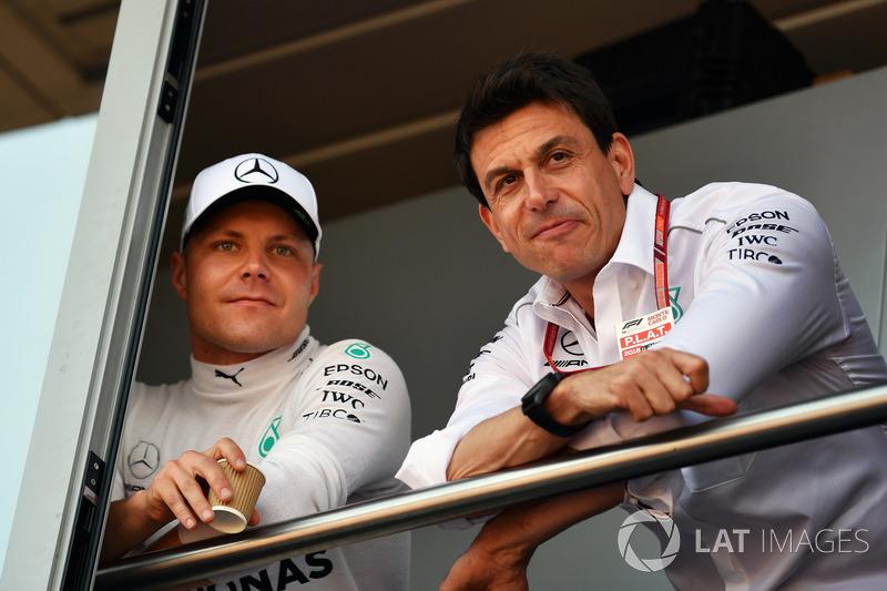 Valtteri Bottas, Mercedes-AMG F1, Toto Wolff, Mercedes AMG F1 Director of Motorsport