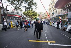 Jean Todt, presidente, FIA, en la grilla