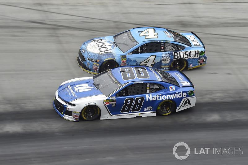 Alex Bowman, Hendrick Motorsports, Chevrolet Camaro Nationwide, Kevin Harvick, Stewart-Haas Racing, Ford Fusion Busch Beer