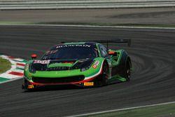 #488 Rinaldi Racing Ferrari 488 GT3: Pierre Ehret, Rory Penttinen, Rick (Sanghwi) Yoon