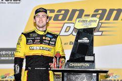 Ryan Blaney, Team Penske Ford Fusion wins Duel 1