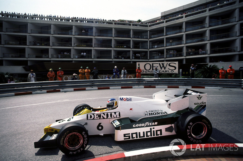 Keke Rosberg, Williams-Honda FW09, 1984