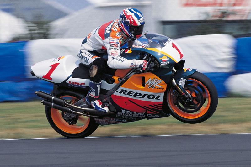Mick Doohan, campeón del mundo de 500cc 1996