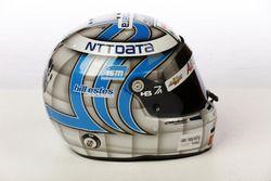 Helm von Tony Kanaan, A.J. Foyt Enterprises Chevrolet