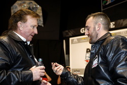 Austin Dillon, Richard Childress Racing Chevrolet Camaro met eigenaar Richard Childress