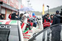 Race winner Norbert Michelisz, Honda Racing Team JAS, Honda Civic WTCC