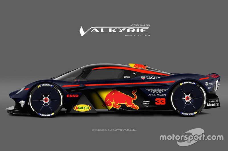 aston martin valkyrie red bull racing livery at motor1 on