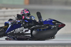 Crash, Alex Lowes, Pata Yamaha