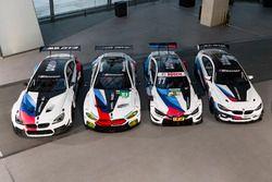 Автомобили BMW M6 GT3, BMW M8 GTE, BMW M4 DTM и BMW M4 GT4