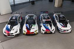 BMW M6 GT3, BMW M8 GTE, BMW M4 DTM, BMW M4 GT4