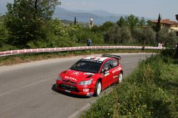 Luca Pedersoli, Anna Tomasi, Citroen C4 WRC, D-Max Suisse