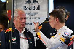 Dr Helmut Marko en Max Verstappen, Red Bull Racing